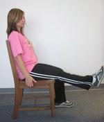 حرکت خوابیدن برروی شکم وحرکت عضلات همسترینگ در فیزیوتراپی در منزل
