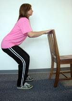حرکت اسکوات یا جمع کردن بدن