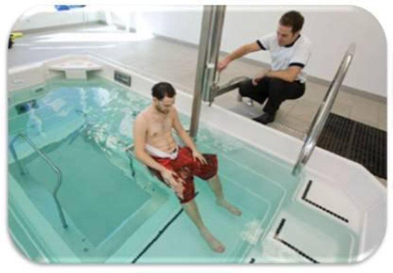آب درمانی زانو 4