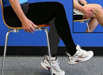 تمرینات زانو درد
