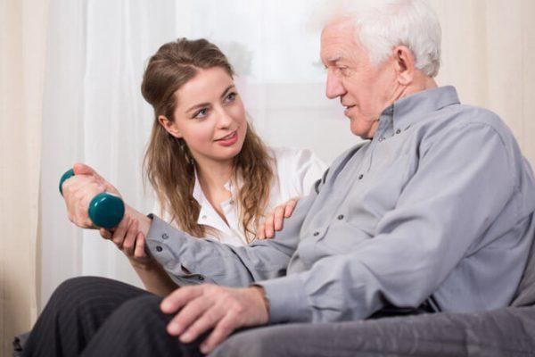 درمان سکته مغزی در منزل
